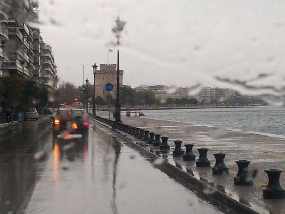 Αποτέλεσμα εικόνας για βροχες στη θεσσαλονικη
