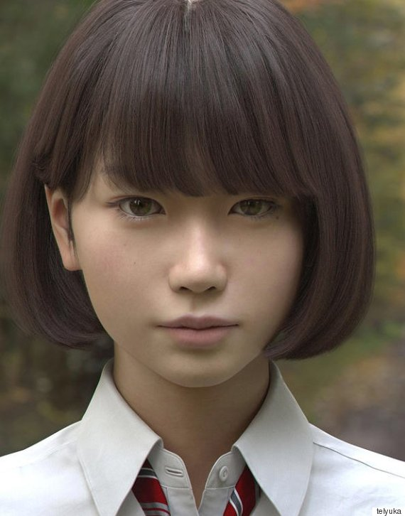 7b3109f54690 Ονομάζεται Saya και μοιάζει με μια συνηθισμένη Γιαπωνέζα μαθήτρια. Αυτό  όμως που την κάνει ξεχωριστή