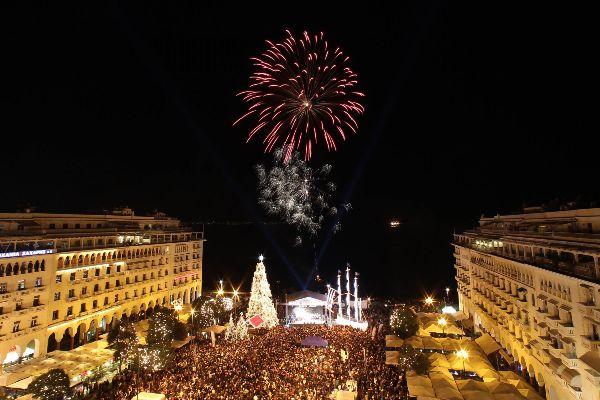 Χριστουγεννιάτικες εκδηλώσεις στη Θεσσαλονικη