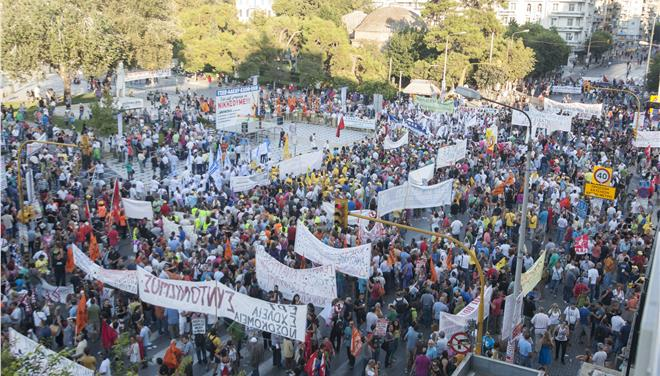 Αποτέλεσμα εικόνας για ο συλλαλητήριο της ΔΕΘ
