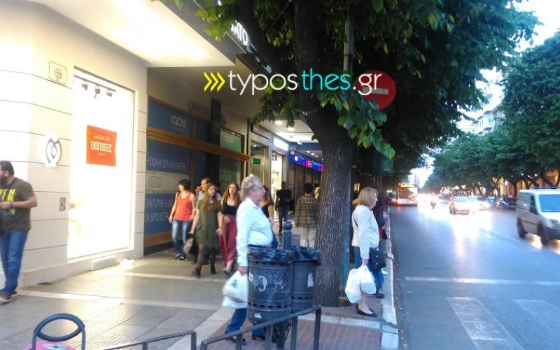 cb921a1e4172 Θεσσαλονίκη  Ξύλο μεταξύ security – κλεφτών σε γνωστό κατάστημα ρούχων