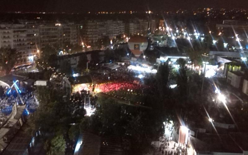 ca6504c75c5 ΤΩΡΑ: Με στόχο νέο Ρεκόρ Γκίνες… περικύκλωσαν τη Θεσσαλονίκη! (ΦΩΤΟ ...