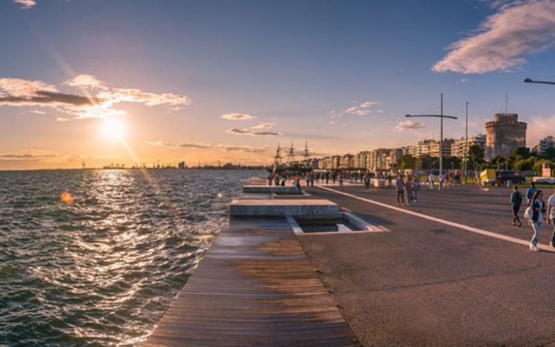 Αποτέλεσμα εικόνας για παραλία θεσσαλονίκη