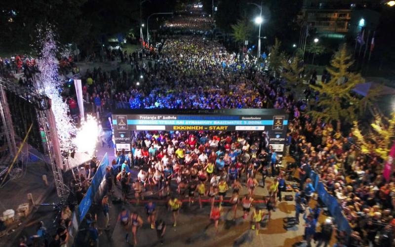 Αποτέλεσμα εικόνας για 8ο Διεθνή Νυχτερινό Ημιμαραθώνιο Θεσσαλονίκης