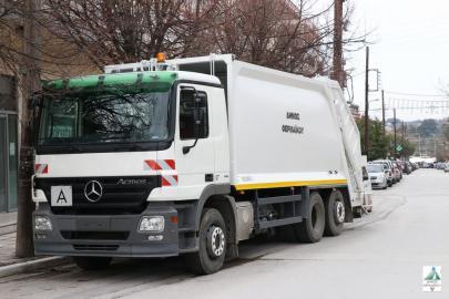 Με 5 νέα απορριμματοφόρα εξοπλίζεται ο δήμος Θερμαϊκού
