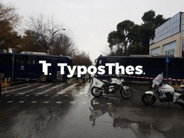Θεσσαλονίκη ΤΩΡΑ: Μέτρα ασφαλείας στο κέντρο – Πού έκλεισαν δρόμοι (ΦΩΤΟ)