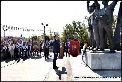 Θεσσαλονίκη: Πλήθος κόσμου στις εκδηλώσεις του Παύλου Μελά (ΦΩΤΟ)