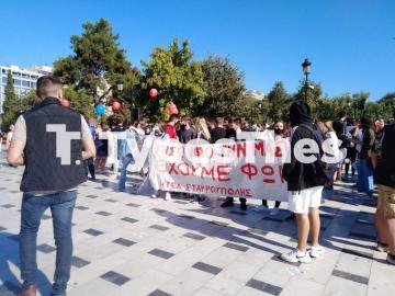Θεσσαλονίκη ΤΩΡΑ: Πορεία μαθητών στο κέντρο (ΦΩΤΟ), φωτογραφία-5