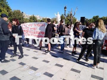 Θεσσαλονίκη ΤΩΡΑ: Πορεία μαθητών στο κέντρο (ΦΩΤΟ), φωτογραφία-12